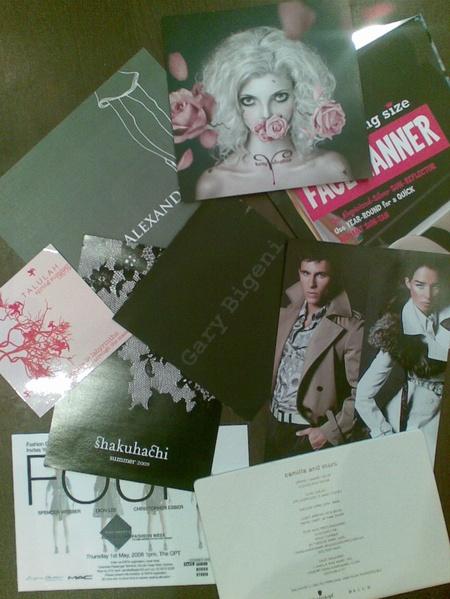 Fashionweekinvites